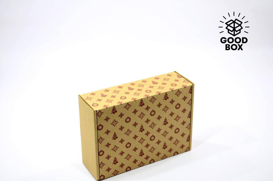 Новогодняя коробка купить в Алматы