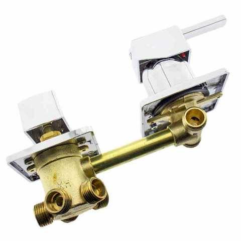 Смеситель для душевой кабины (G5/10) на 5 положения под гайку