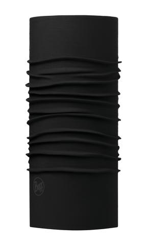 Многофункциональная бандана-труба Buff Solid Black фото 1