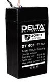 Аккумулятор Delta DT 401 ( 4V 1Ah / 4В 1Ач ) - фотография