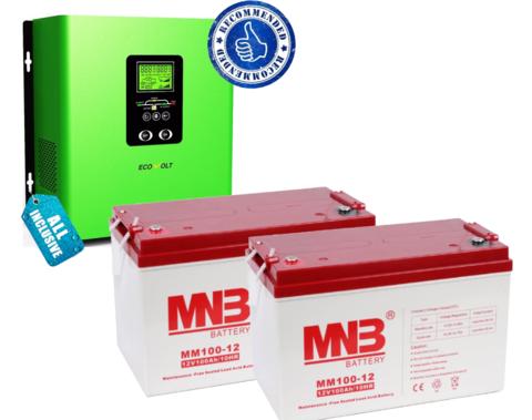 Комплект ИБП TERMO 1012+MNB MM 12-100-2шт
