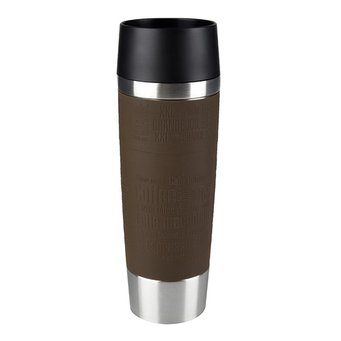 Термокружка Emsa Travel Mug Grande (0,5 литра), коричневая