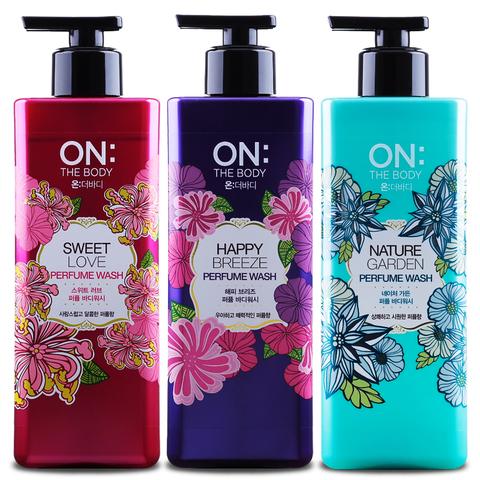 ON: The Body Nature Garden Perfume Wash парфюмированный гель для душа