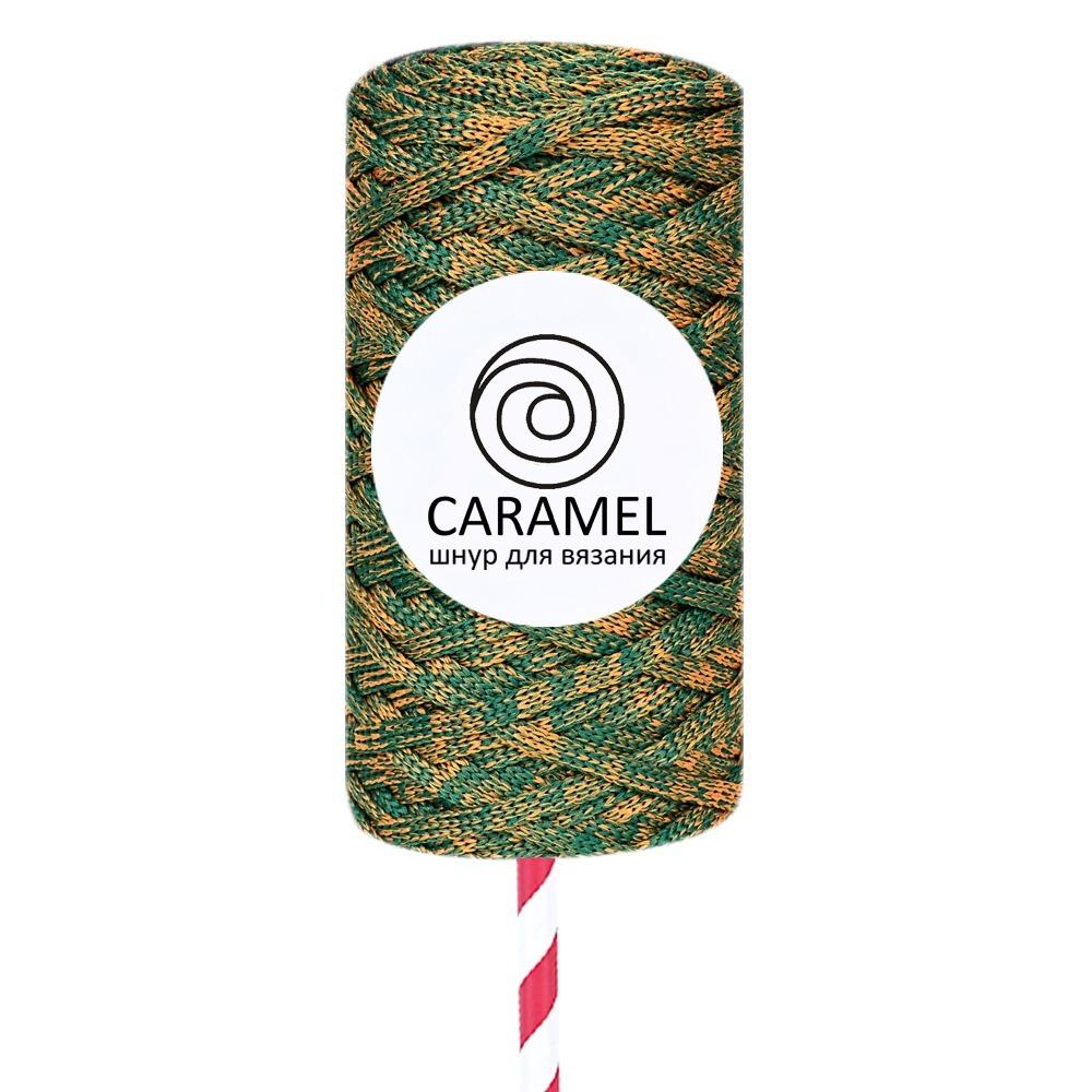Плоский полиэфирный шнур Caramel Полиэфирный шнур Caramel Микс 18 Микс_18.jpg