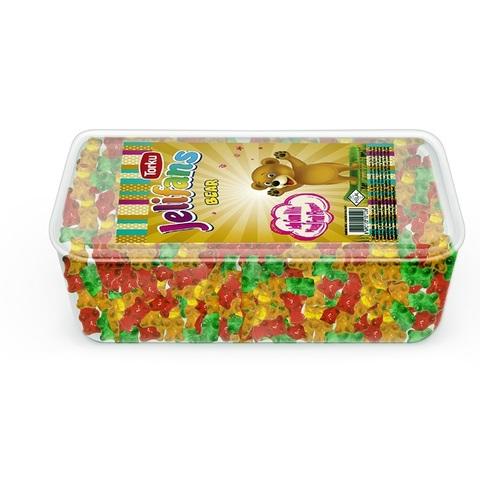 JELIFANS желейные конфеты мишки 1кор*8бл*1шт 900гр