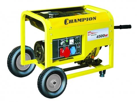 Дизельный генератор Champion DG6000E-3 5кВт