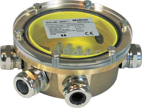 Подводная клеммная коробка, 6х(6-12) мм Unterwasser-Verteilerdose 6-fach (168/2651)