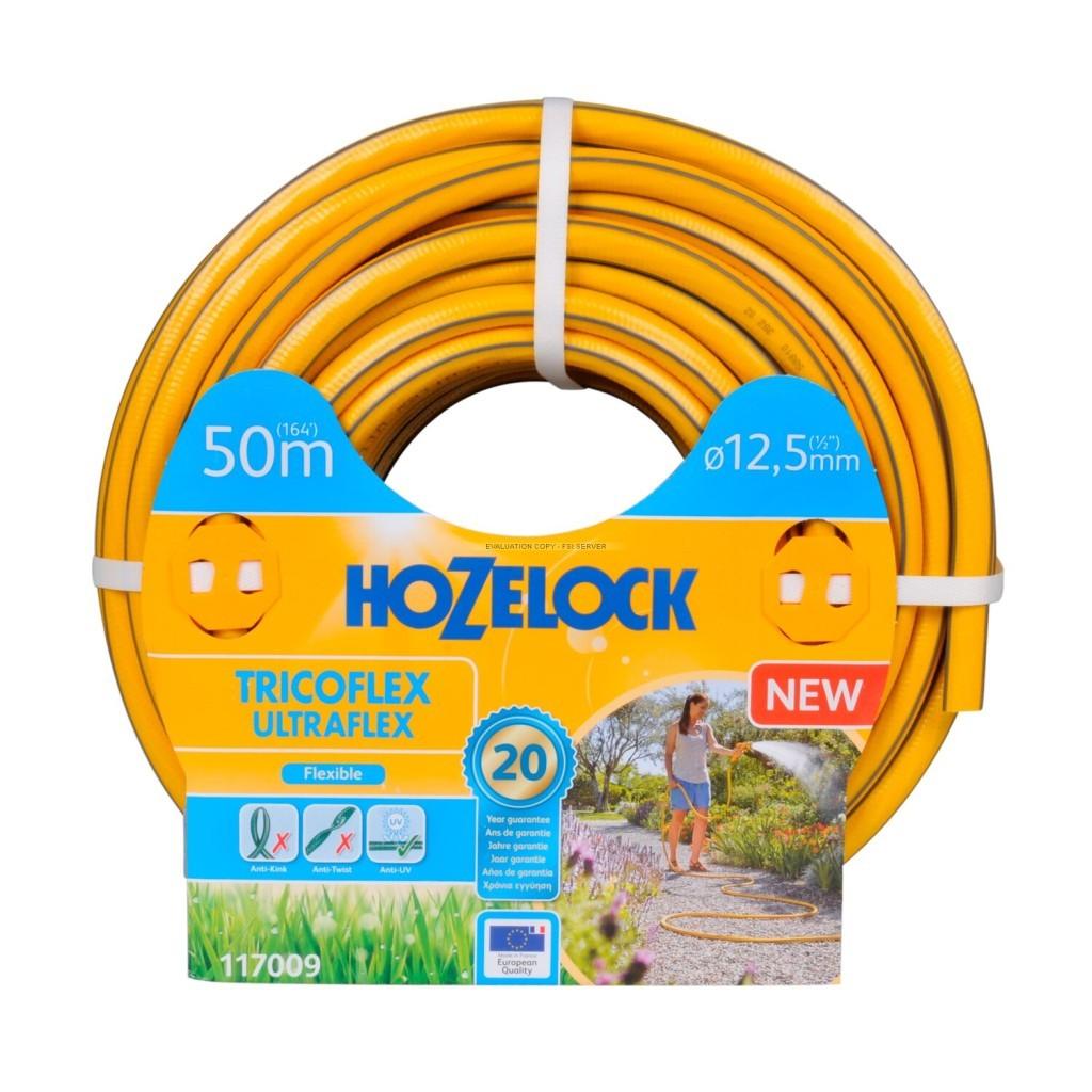 Шланг HoZelock 12,5м 50м 117009 Tricoflex Ultraflex