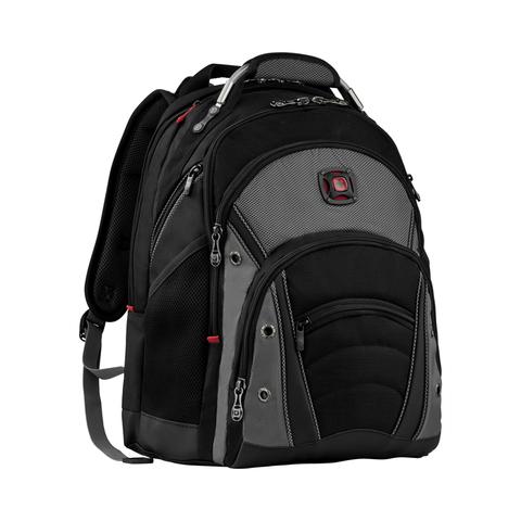 Городской рюкзак чёрно-серый 26 л WENGER Synergy 600635