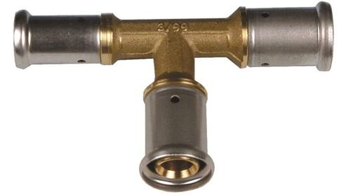 Henco тройник пресс 16х20х16 мм переходной для металлопластиковых труб (12P-162016)