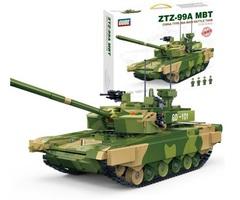 Конструктор серия Армия Китайский Боевой танк Type 99