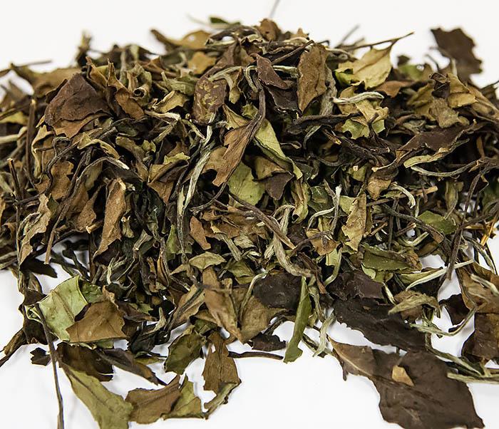 TEA-CH133 Китайский белый чай «Брови долголетия» (Шоу Мэй, 50 гр) фото 04