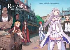 Re:Zero. Жизнь с нуля в альтернативном мире. День в столице королевства