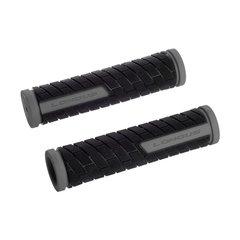 Ручки руля LONGUS, GRID, серо/черные