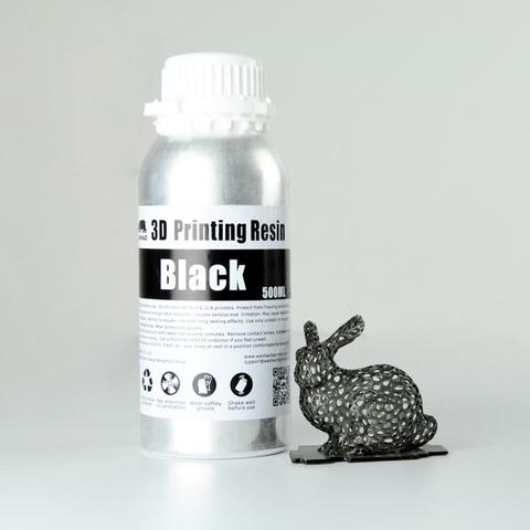 Фотополимер Wanhao Standard Resin, чёрный (500 мл)