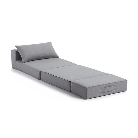 Пуф-кровать Arty серая