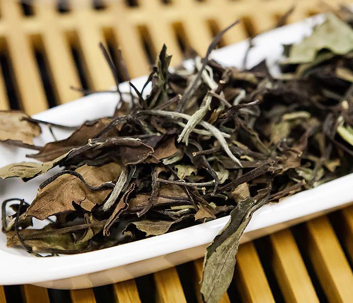 TEA-CH133 Китайский белый чай «Брови долголетия» (Шоу Мэй, 50 гр) фото 05