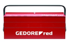 Ящик для инструментов пустой 535x260x210 мм | Gedoretools.ru