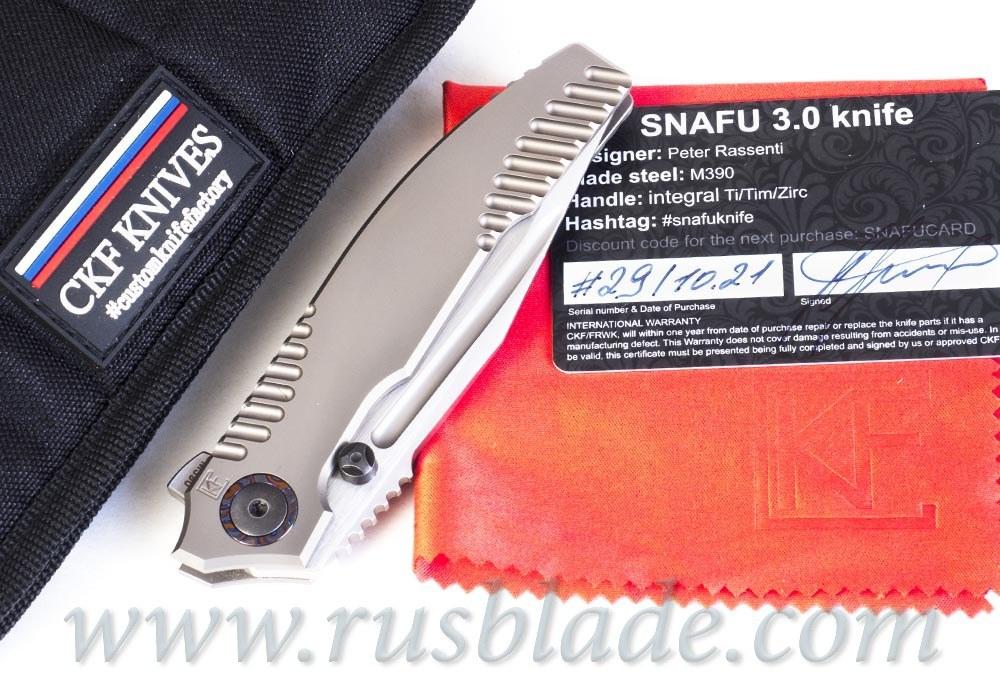 CKF/Rassenti SNAFU 3.0 C collab knife
