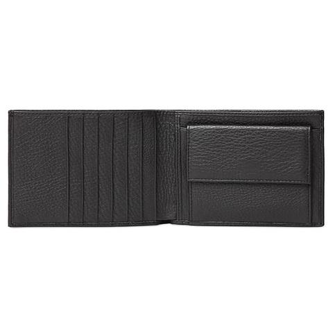 Кошелек Piquadro Modus, черный, 13x9,5x2 см