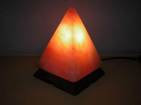 Солевая лампа (соляная лампа) «Пирамида»