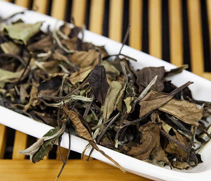 TEA-CH133 Китайский белый чай «Брови долголетия» (Шоу Мэй, 50 гр) фото 06
