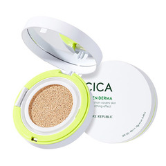 Кушон NATURE REPUBLIC Green Derma Mild Cica Serum Cover Cushion SPF50+ PA+++ 14g