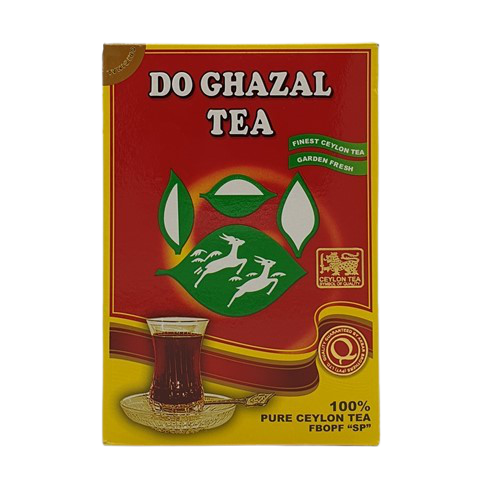 Цейлонский черный чай DO GHAZAL TEA, 500 гр