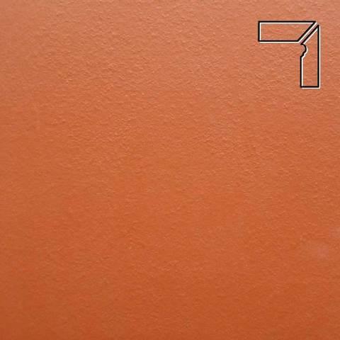 Ceramika Paradyz - Natural Rosa Duro, 300x81x11, артикул 44 - Цоколь правый структурный 2-х элементный