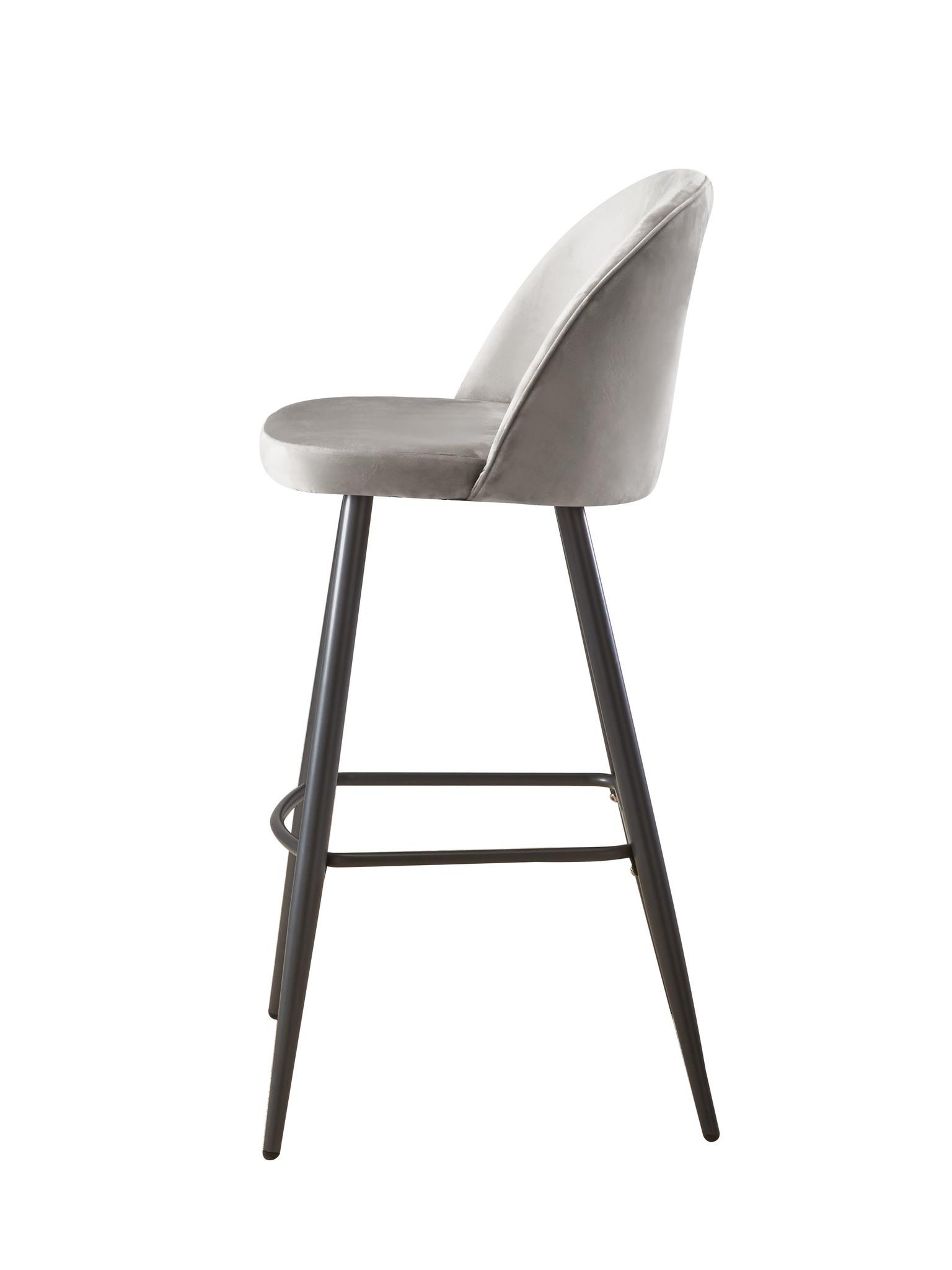 Барный стул BCR-502 GRAY (серый)