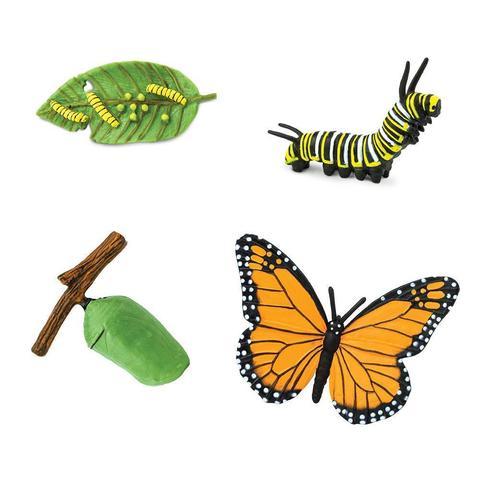 Набор фигурок Жизненный цикл бабочки Монарх Safari Ltd 622616