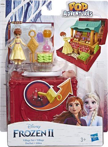 Игровой набор с куклой Frozen Холодное сердце 2 Шкатулка Деревня, E6545EU4 Анна