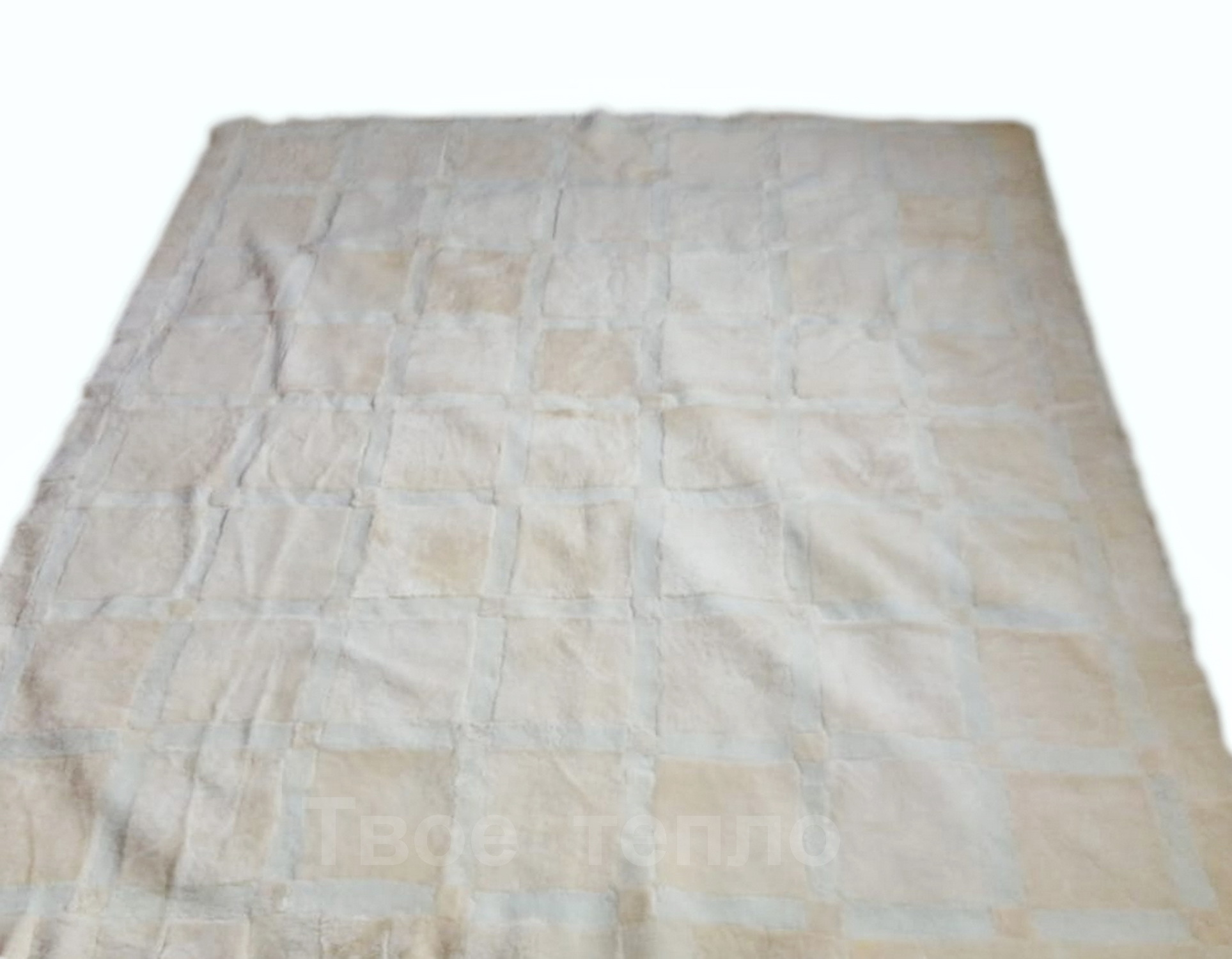 Покрывало (ковер, плед) из овчины