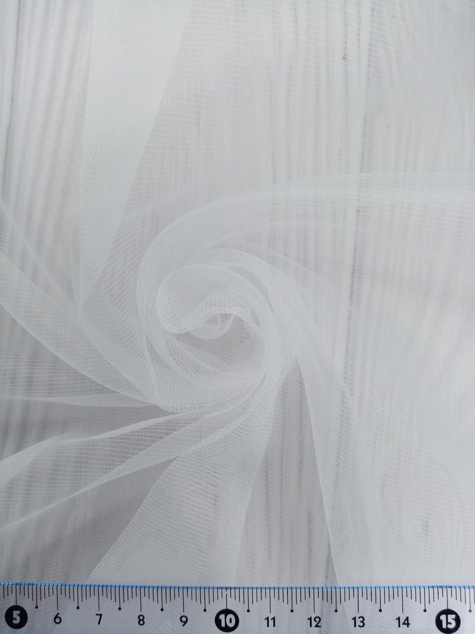 Тюль однотонный VELNUS