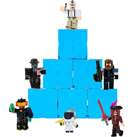 Роблокс Тайный набор из 6 штук, серия 9 Голубые
