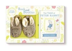 Tale of Peter Rabbit Book and First Boot