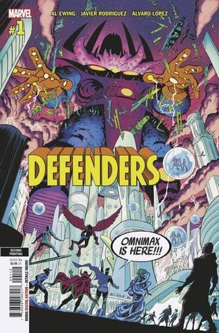 Defenders Vol 6 #1 Cover I 2nd Ptg Variant Cover