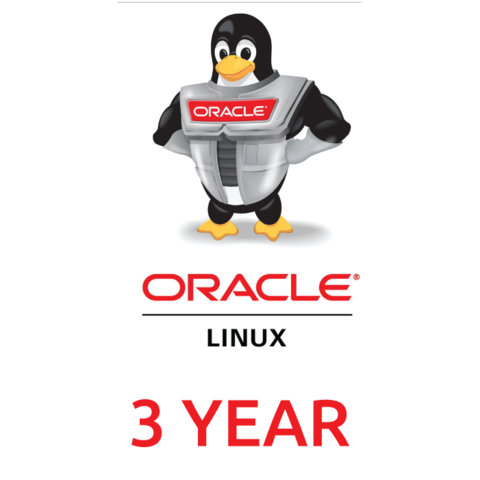 Сертификат на техническую поддержку Oracle Linux Network (3 Year Support)