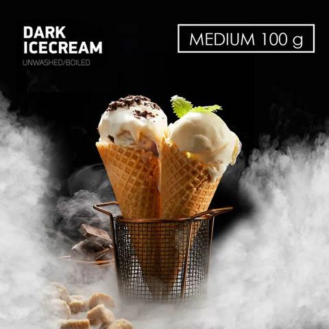Табак Dark Side 100 г MEDIUM DARK ICECREAM