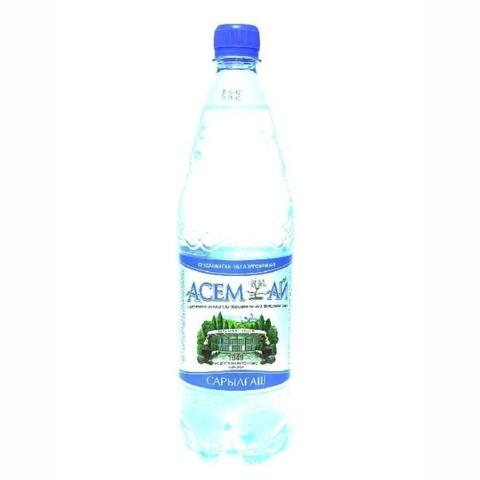 Вода минеральная АСЕМ-АЙ б/газа 1,5 л Сары-агаш КАЗАХСТАН