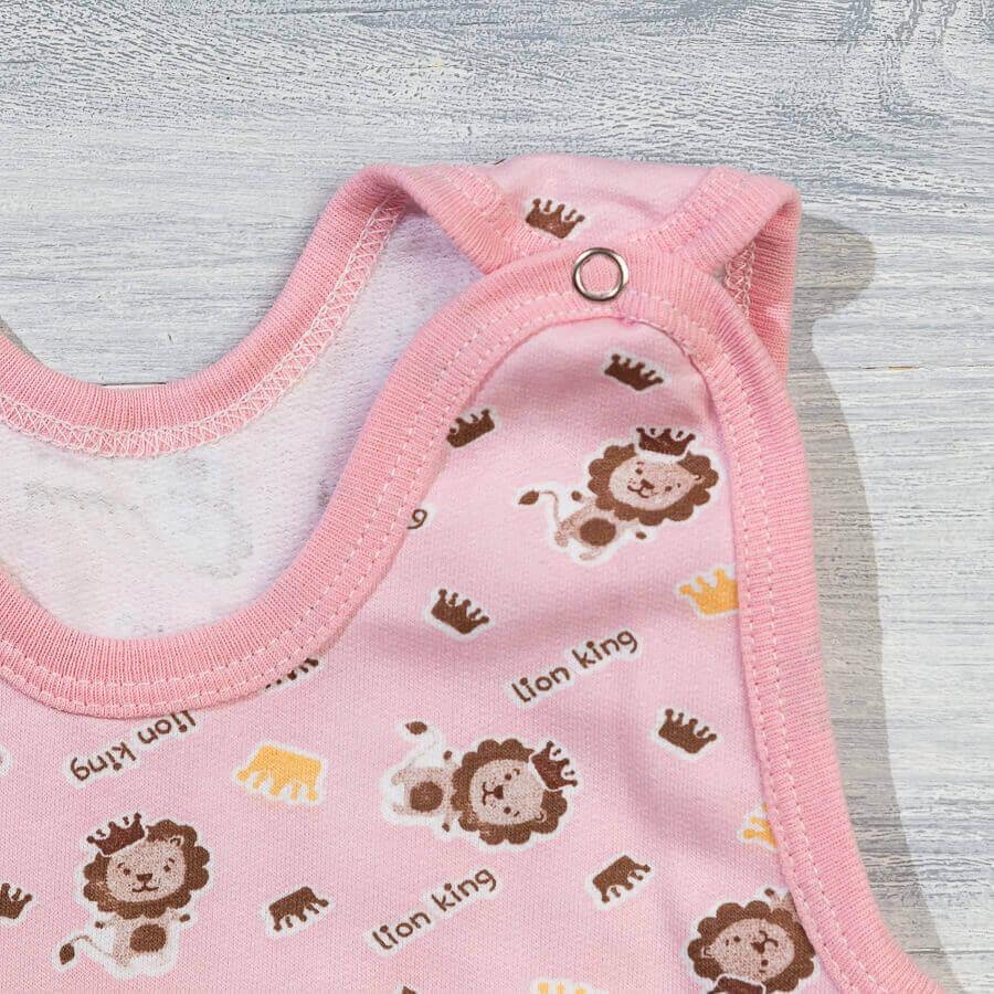 Полукомбинезон с начесом для новорожденных