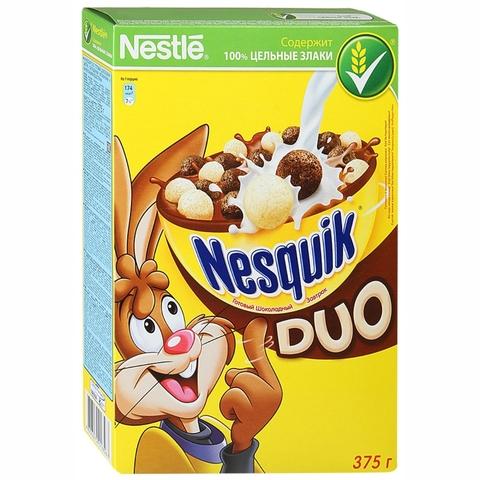 Готовый завтрак NESQUIK Duo 375 гр кор Nestle РОССИЯ