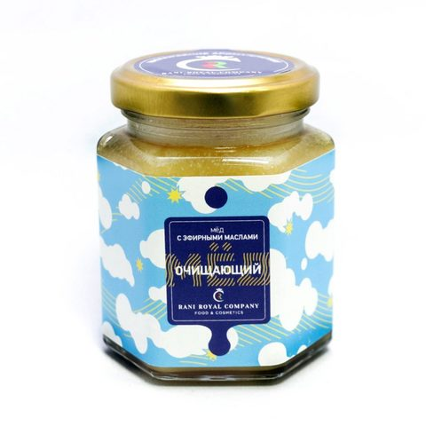 Мёд с эфирными маслами «Очищающий» 240 г