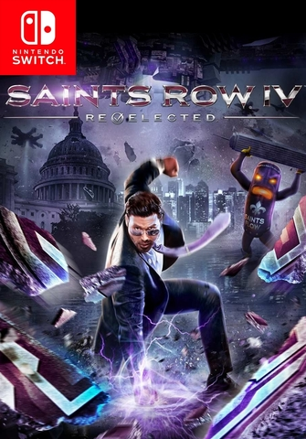 Saints Row IV Re-elected (Nintendo Switch, русские субтитры)