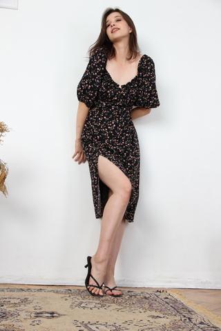 Платье из вискозы