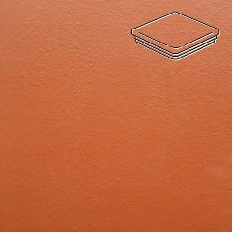 Ceramika Paradyz - Natural Rosa Duro, 330x330x11, артикул 45 - Ступень угловая с капиносом структурная