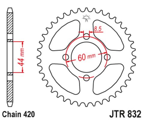 JTR832