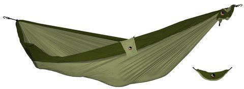 Картинка гамак туристический Ticket to the Moon compact hammock Khaki - Army Green - 1