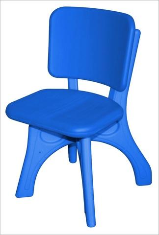 """Детский пластиковый стул """"Дейзи"""", синий"""