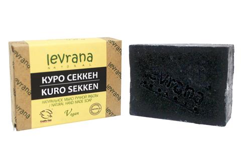 Куро секкен, натуральное мыло LEVRANA 100 гр.